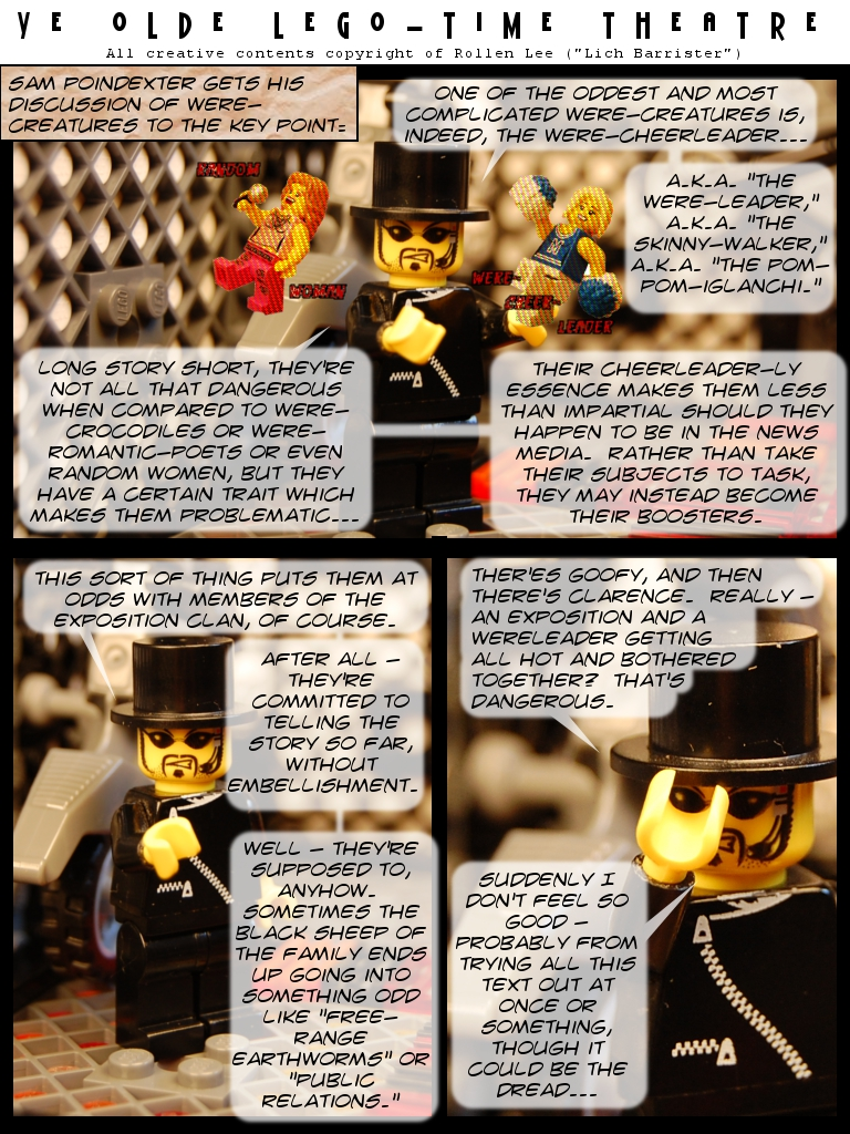 1 October 2010 - Tip o' the Pom-Poms to the Masters