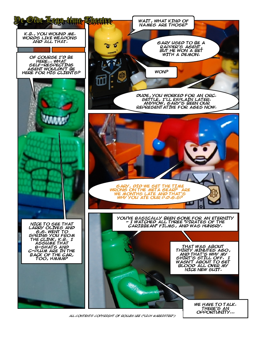 16 January 2010 - The One with an Odd First Panel
